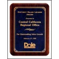 P3486 Series Solid American walnut  plaque